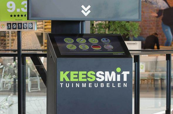 Garden retail experience for Kees Smit