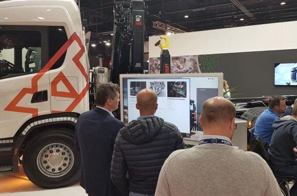 Scania experience made with Omnitapps4 for trade show