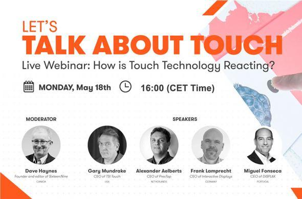 Watch the webinar Let's Talk about Touch here!